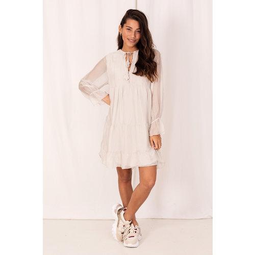 Garconne Dress Silk Viscose Beige