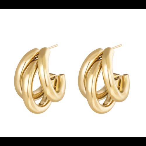 LADYLIKE Earrings Olympic Gold