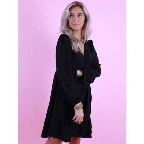 AN'GE Elanor Dress Black