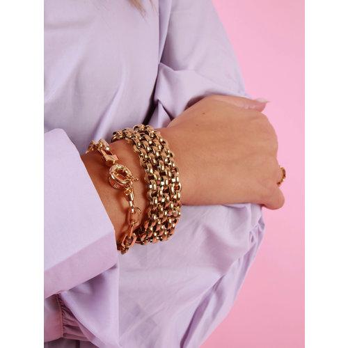 LADYLIKE Big Bracelet Gold