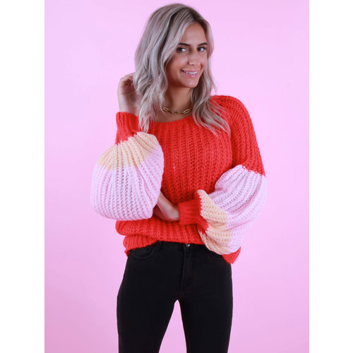 GG LUXE Knitted Colorful Jumper Mix