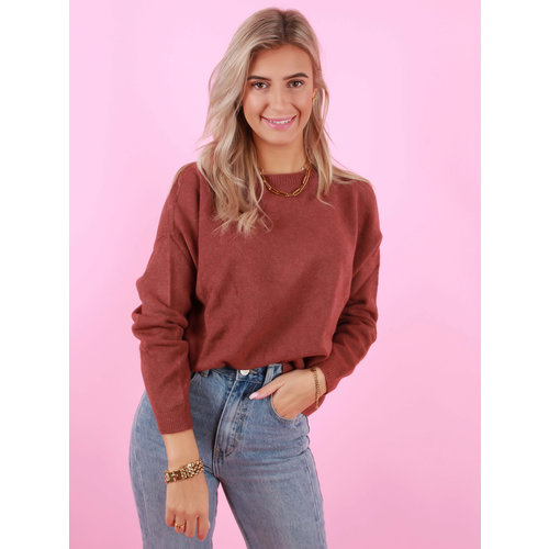 ALEXANDRE LAURENT Viscose Jumper Brown
