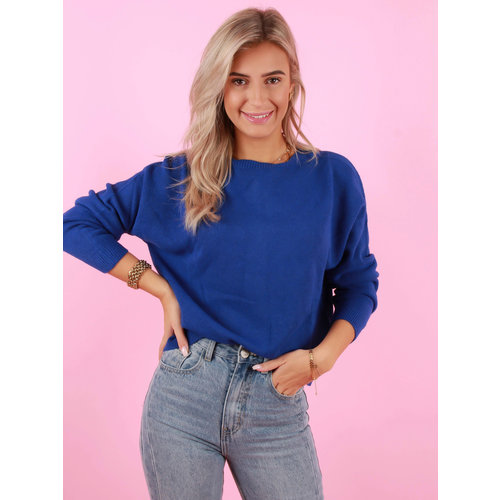 ALEXANDRE LAURENT Viscose Jumper Blue