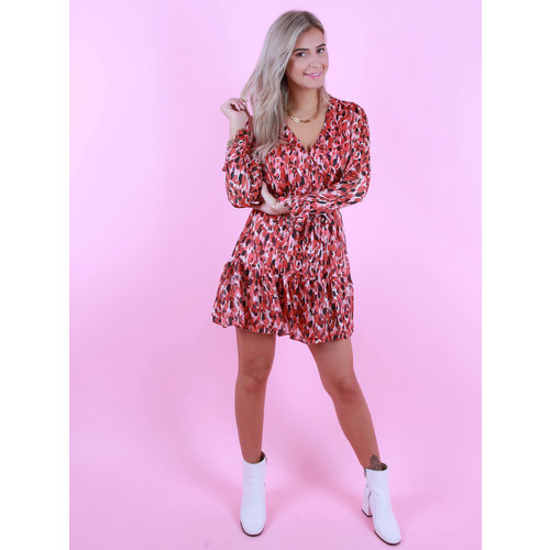 RETRO ICONE Anna Dress Red