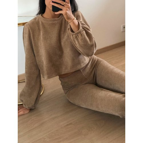 Eight Paris Alexia Jumper Camel