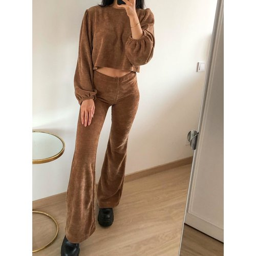 Eight Paris Alexia Jumper Brown