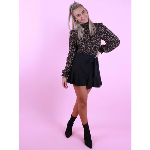 IVIVI Arianne Skirt Black