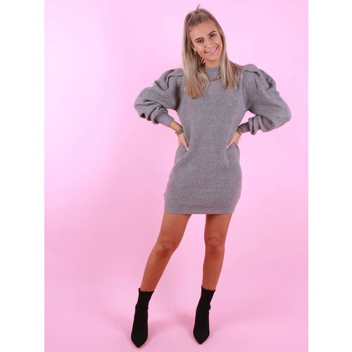 MOCHY Amanda Dress/Jumper Grey