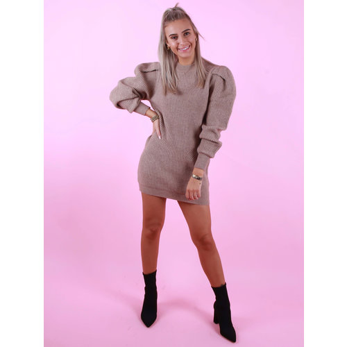 MOCHY Amanda Dress/Jumper Beige