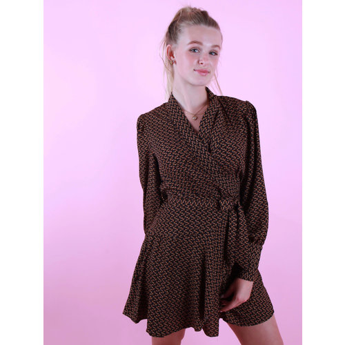 RETRO ICONE Lois Dress Black