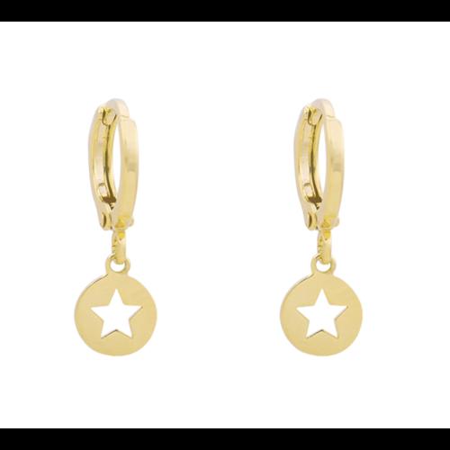 LADYLIKE Earrings Catch a Star Gold