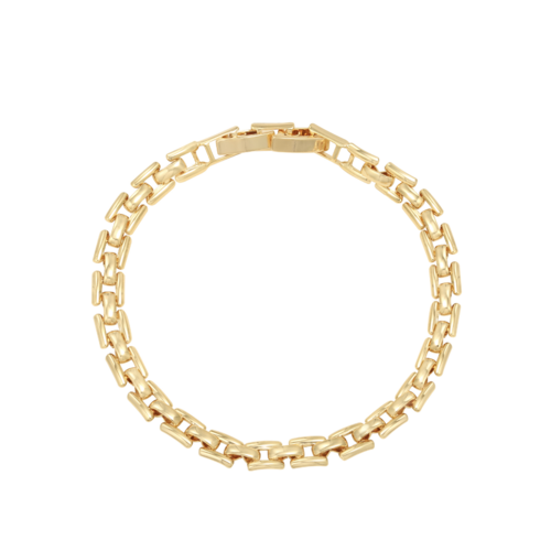 YEHWANG Bracelet Square Chain Gold