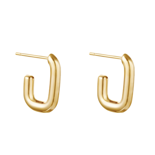 YEHWANG Earrings Shimmer Small Gold