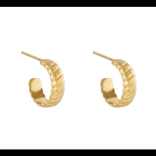 YEHWANG Earrings Romans Gold
