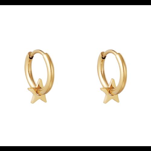 YEHWANG Earrings Lonely Star Gold