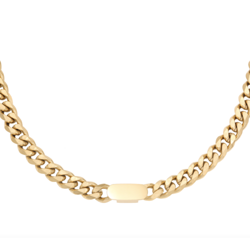YEHWANG Necklace Power Woman Gold