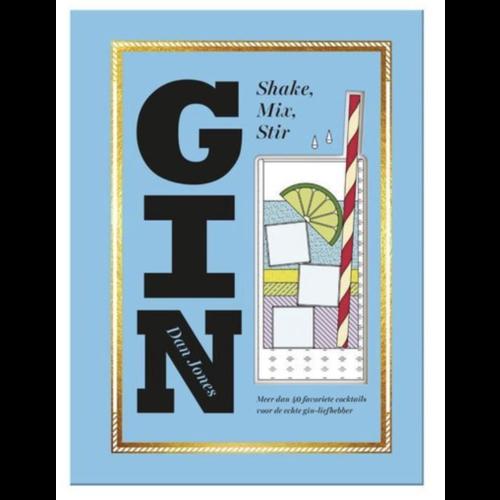 KOSMOS Gin Book - Shake, Mix, Stir - Dan Jones
