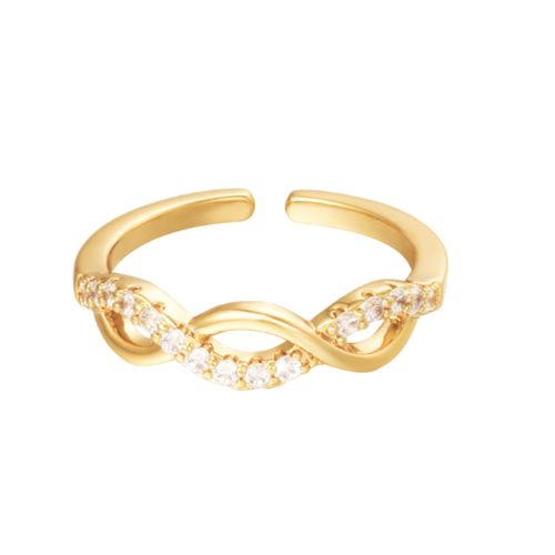 YEHWANG Ring Angelic Gold