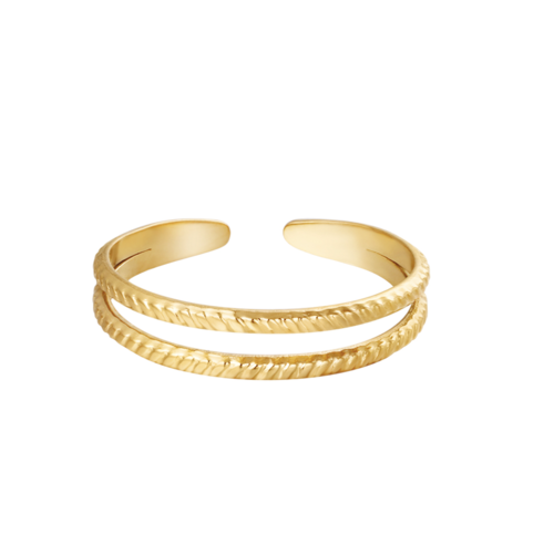 YEHWANG Ring Miraculous Gold
