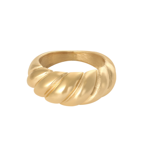 Yehwang Ring Small Baguette Gold