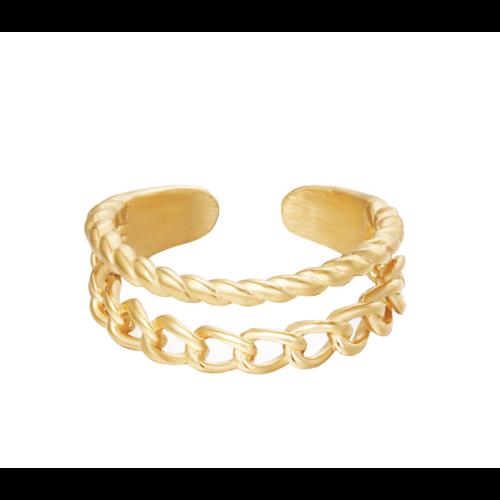 YEHWANG Ring Endless Love Gold