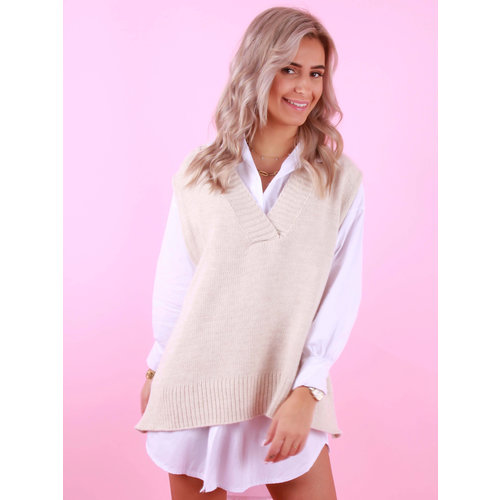 BELLAVIE Basic Spencer Beige
