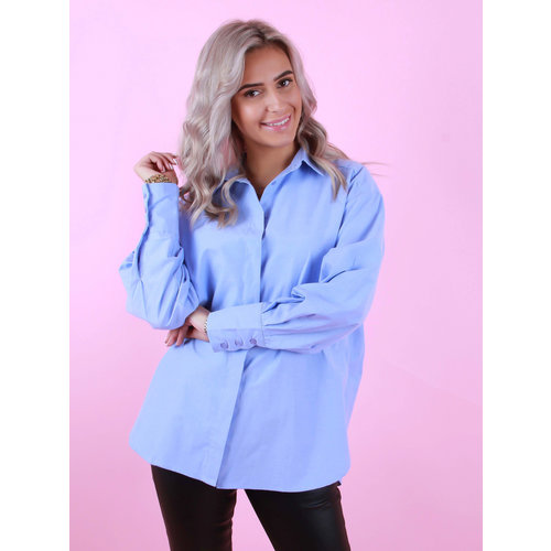 VERA & LUCY Basic Blouse Blue