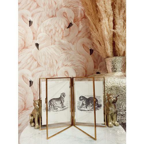 KERSTEN Photo Frame Gold 18x2x12cm