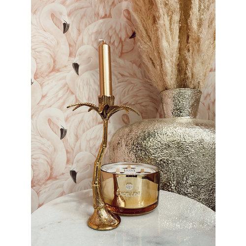 & Klevering Palmtree Candle Holder Large