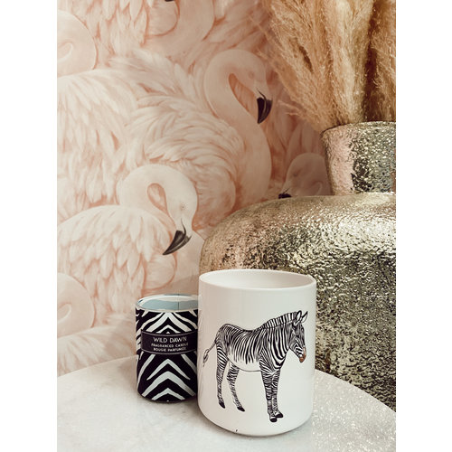 HOUSE VITAMIN Ceramic Flower Pot Zebra