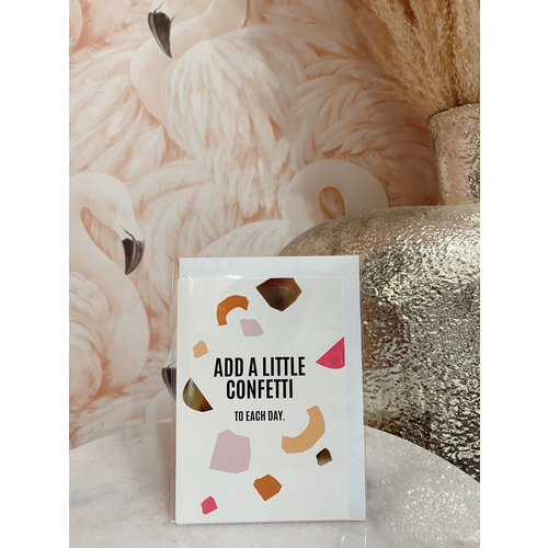 Studio Stationery Postcard Add A Little Confetti to Each Day