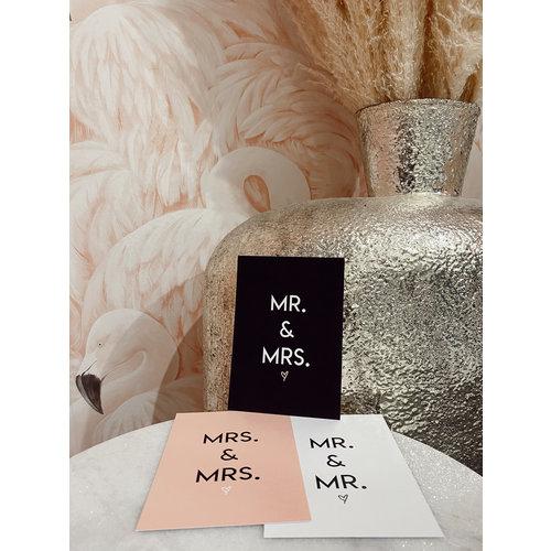 Miekinvorm Mrs. & Mrs. Pink
