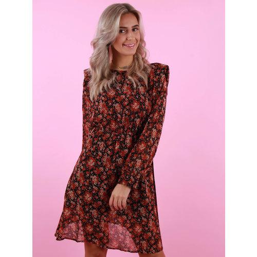 Mod. Style Sam Dress Red/Black