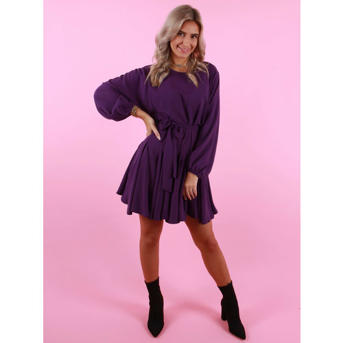 IVIVI Flow Dress Purple