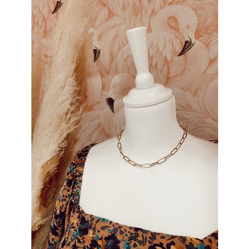 Small Chain Necklace Gold