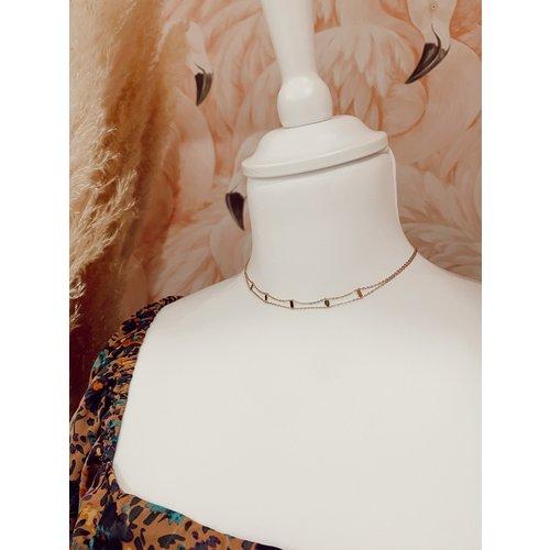 LADYLIKE FASHION Symbols Necklace Gold
