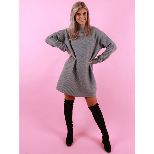 F & P Jumper Dress Grey
