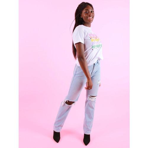 Azuka Beverly Hills (rock fit) - T-Shirt White
