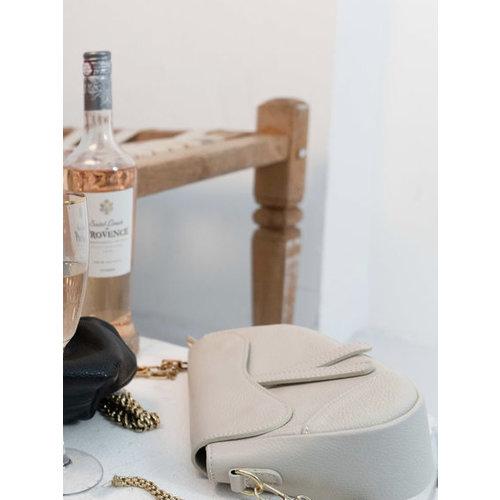 Teatro Leather Gigi - Classic Grain - Crossbody bag - Beige