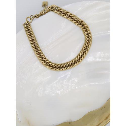 Ladylike  Fashion Chained Bracelet Gold