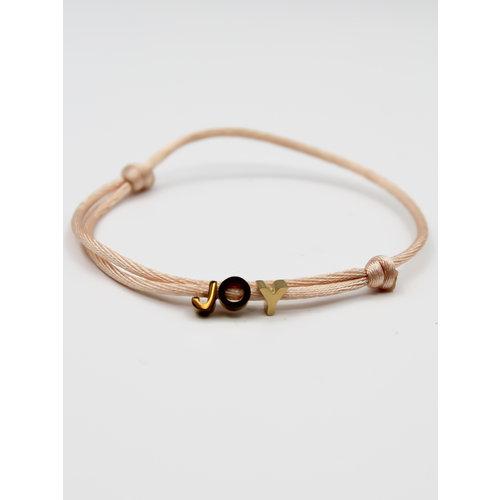 Ladylike  Fashion JOY Bracelet Gold