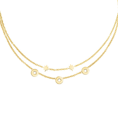 Yehwang Necklace Starstruck Gold