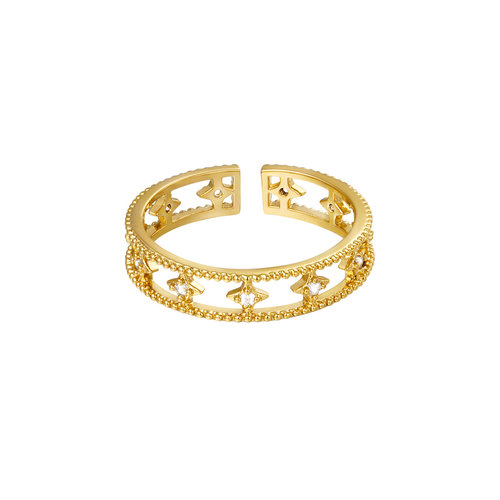 Yehwang Ring Glorious Gold