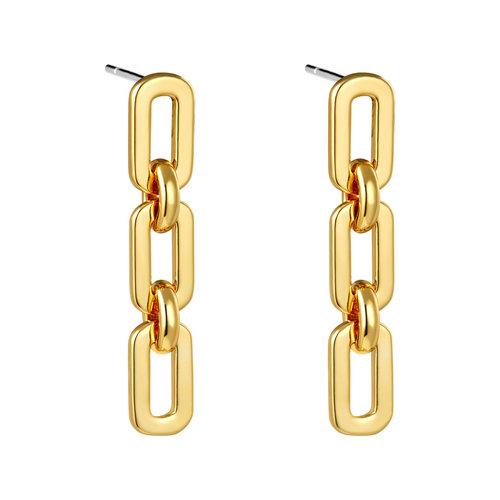 Yehwang Earrings Locomotion Gold