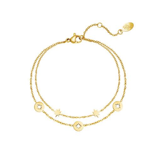 Yehwang Bracelet Starstruck Gold