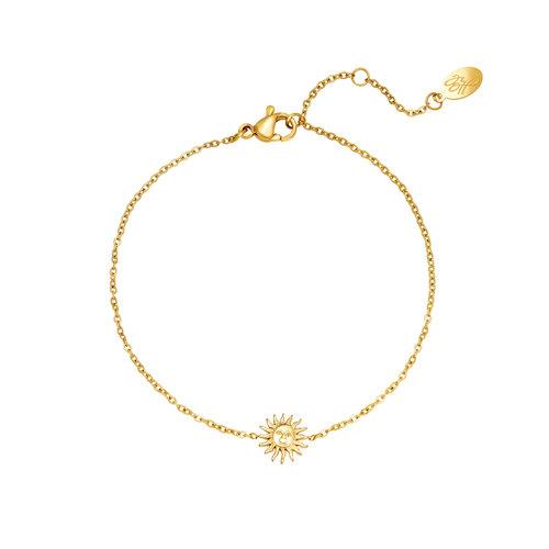 Yehwang Bracelet Sunny Vibes Goud