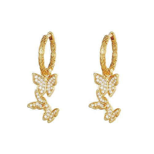 Yehwang Earrings Eden Gold