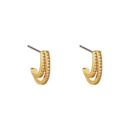 Yehwang Earrings Seda Gold