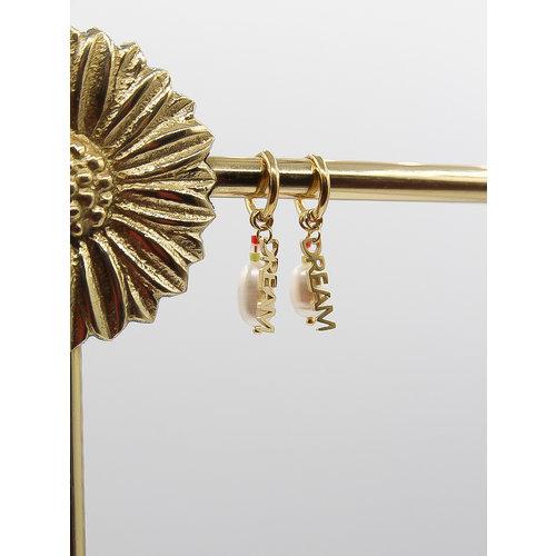 Ladylike  Fashion Dream Earrings Gold