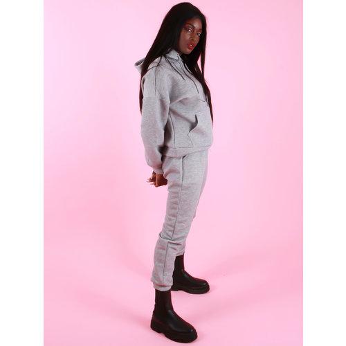 Drôle de  Copine J'adore Comfy Suit Grey